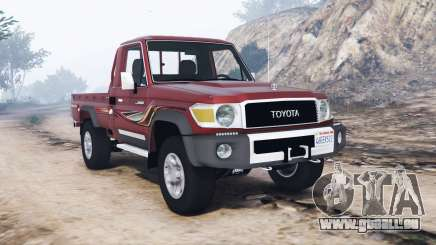 Toyota Land Cruiser 70 pickup v1.1 [replace] pour GTA 5