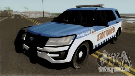 Ford Explorer 2012 Red County Police pour GTA San Andreas