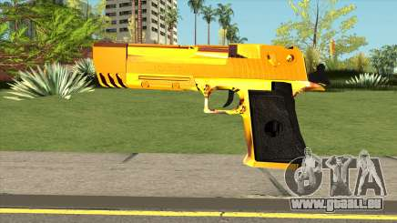 Gold Deagle für GTA San Andreas