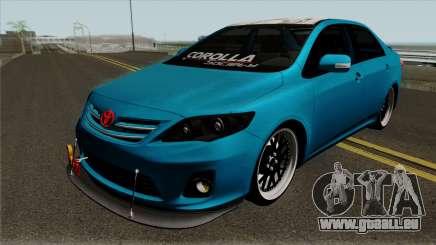Toyota Corolla Society Vnzla für GTA San Andreas