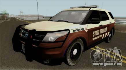 Ford Explorer 2012 Bone County Police pour GTA San Andreas