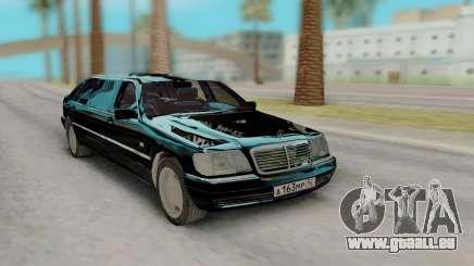 Mercedes-Benz S600 PullMen pour GTA San Andreas