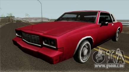 Tahoma Coupe für GTA San Andreas