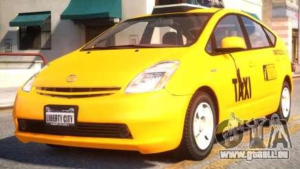 Toyota Prius II Liberty City Taxi pour GTA 4