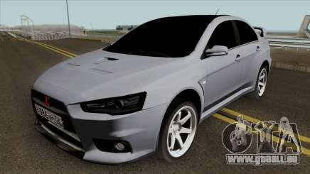 Mitsubishi Lancer Evolution X Light Tuning pour GTA San Andreas