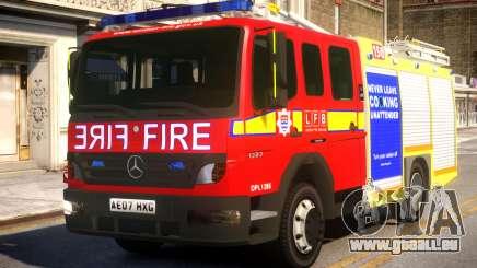 London Fire Brigade Atego Fire Appliance pour GTA 4