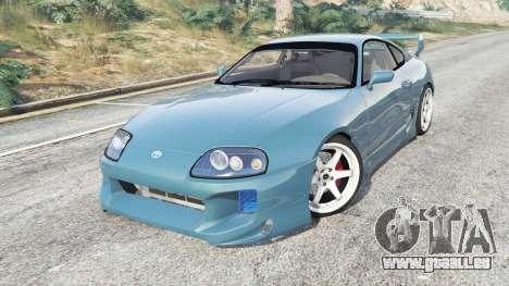 GTA 5 Toyota Supra Turbo (JZA80) v1.5 [replace] droite vue latérale