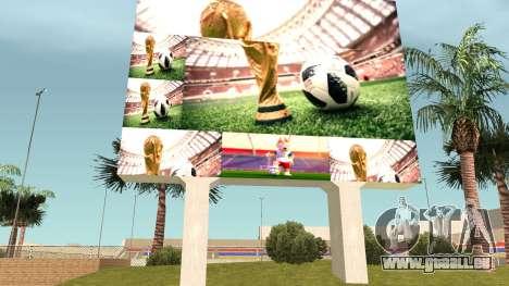 FIFA World Cup Russia 2018 Stadium pour GTA San Andreas