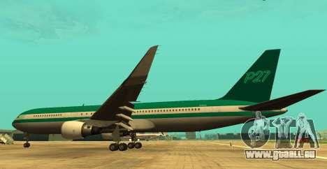 Boeing 767 P27 Couleurs De Sarcelle D'Hiver pour GTA San Andreas