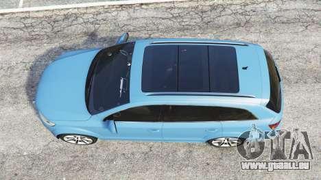 GTA 5 Audi Q7 V12 TDI quattro (4L) 2008 [replace] vue arrière