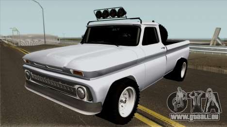 Chevrolet C10 Rusty Rebel pour GTA San Andreas