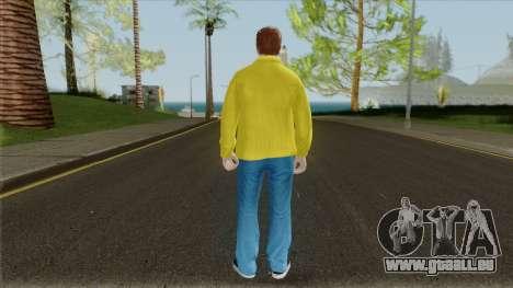 GTA 20th Anniversary Tribute (Skin) pour GTA San Andreas