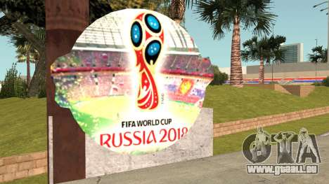 FIFA World Cup Russia 2018 Stadium pour GTA San Andreas