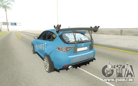 Subaru Impreza WRX STi Type RA Spec C für GTA San Andreas