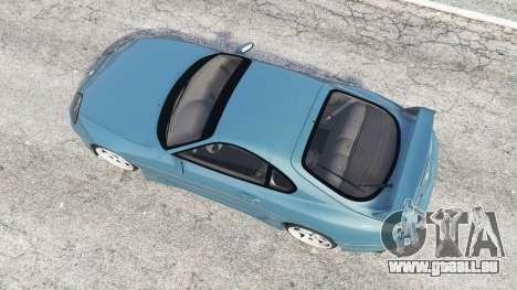 GTA 5 Toyota Supra Turbo (JZA80) v1.5 [replace] vue arrière