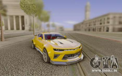 Chevrolet Camaro SS Customized by Alfa Six Des pour GTA San Andreas
