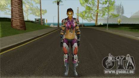 Skin Maven from Ghost in The Shell (with a face) pour GTA San Andreas