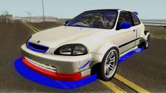 Honda Civic Type R Forza Edition Series VI 1997 pour GTA San Andreas