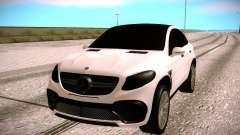 Mercedes Benz GLE CLR 900 Tuning pour GTA San Andreas