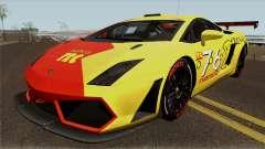 Lamborghini Gallardo Pac Racing Club für GTA San Andreas