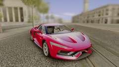 2016 Genesi Model 5 Concept pour GTA San Andreas