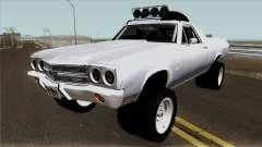 Chevrolet El Camino SS Rusty Rebel 1970 pour GTA San Andreas