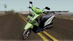 Honda BeAT FI Green STD pour GTA San Andreas
