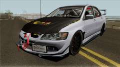 Mitsubishi Evolution Tuning Mod für GTA San Andreas