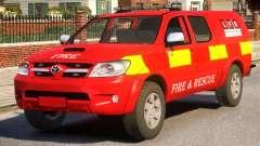 Toyota Hilux Police für GTA 4