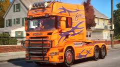 Scania R580 Longline Custom P10 für GTA 4