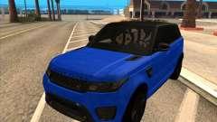Range Rover SVR pour GTA San Andreas