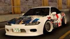 Nissan 180SX Facelift Silvia S15 pour GTA San Andreas