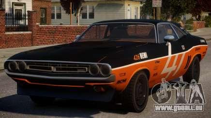 Dodge Challenger 1971 PJ7 für GTA 4