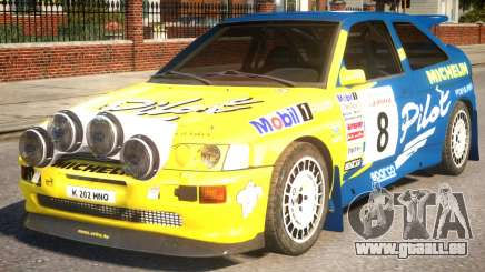 Ford Escort Cosworth RS Rally WRC 3.0 pour GTA 4