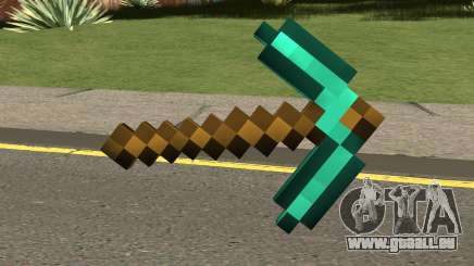 Minecraft Diamond Pickaxe für GTA San Andreas