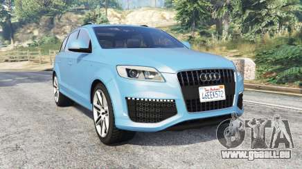 Audi Q7 V12 TDI quattro (4L) 2008 [replace] pour GTA 5