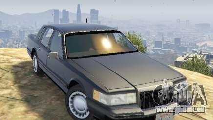 Lincoln TownCar 1991 pour GTA 5