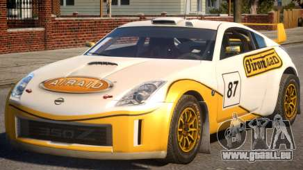 Nissan 350Z Rally Car DiRT2 P3 pour GTA 4
