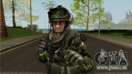 Bulgarian Land Forces (Army) pour GTA San Andreas