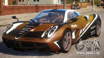 Pagani Huayra Alpinestars pour GTA 4
