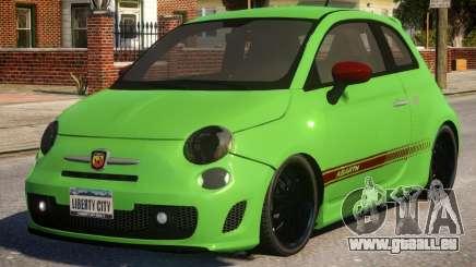 Fiat Abarth 500 für GTA 4