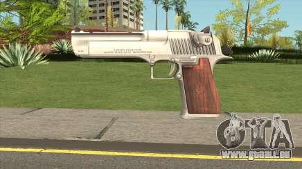 Desert Eagle Silver für GTA San Andreas