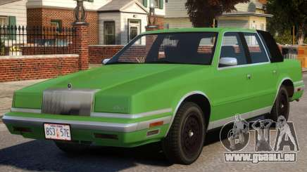 1988 Chrysler New Yorker Stock pour GTA 4