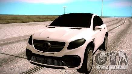 Mercedes Benz GLE CLR 900 Tuning für GTA San Andreas