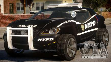 Volkswagen Concept T NYPD pour GTA 4