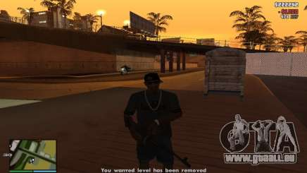 Pot-de-vin à la police pour GTA San Andreas
