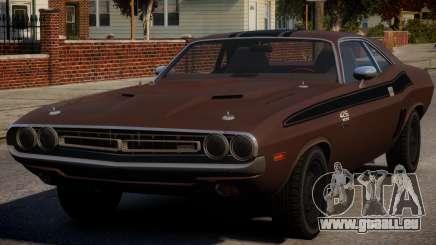 Dodge Challenger 1971 PJ6 pour GTA 4