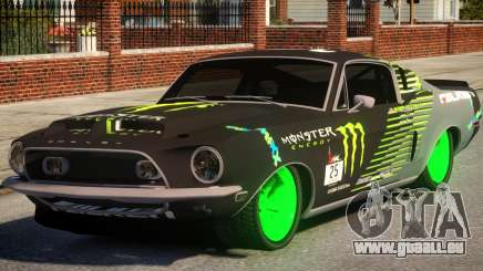 Shelby GT500 69 Monster pour GTA 4
