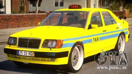 Mercedes E500 Taxi Portugal für GTA 4