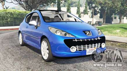Peugeot 207 RC 2007 v0.3 [add-on] für GTA 5